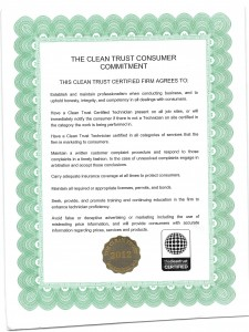 Clean Trust Consumer Commitment
